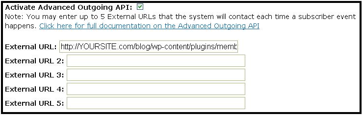Memberlock API URL